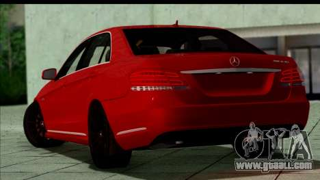 Mercedes-Benz E63 AMG for GTA San Andreas left view