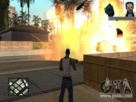 Marusya C-HUD for GTA San Andreas third screenshot