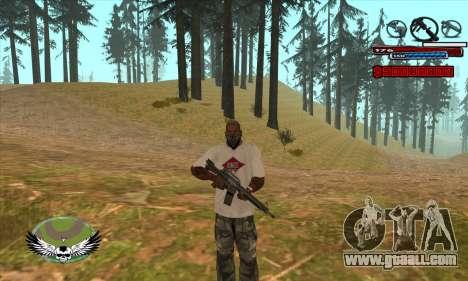 C-HUD by Kir4ik for GTA San Andreas