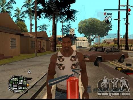 C-HUD Good for GTA San Andreas fifth screenshot