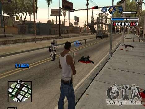 C-HUD Fantastik for GTA San Andreas third screenshot