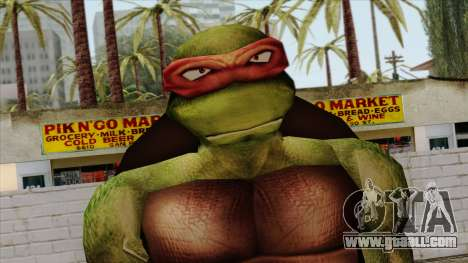Raphael (Teenage Mutant Ninja Turtles) for GTA San Andreas third screenshot