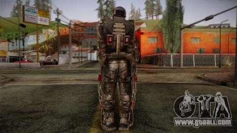 Duty Exoskeleton for GTA San Andreas second screenshot