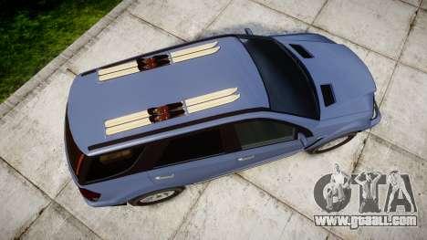 GTA V Benefactor Serrano 4x4 for GTA 4 right view