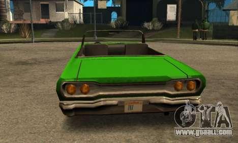 Beta Savanna for GTA San Andreas side view
