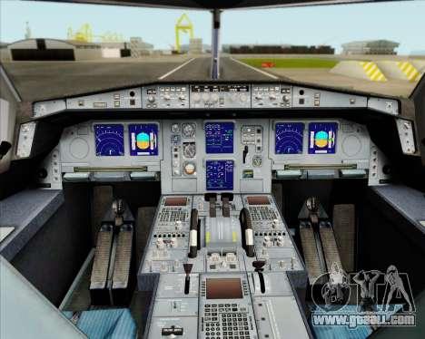 Airbus A330-300 Air Canada Star Alliance Livery for GTA San Andreas interior