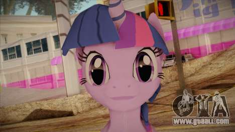 Twilight Sparkle from My Little Pony for GTA San Andreas third screenshot
