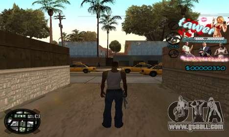 C-HUD Tawer GTA 5 for GTA San Andreas second screenshot