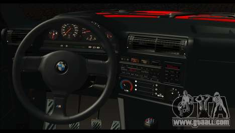 BMW M3 E30 Stock for GTA San Andreas back left view