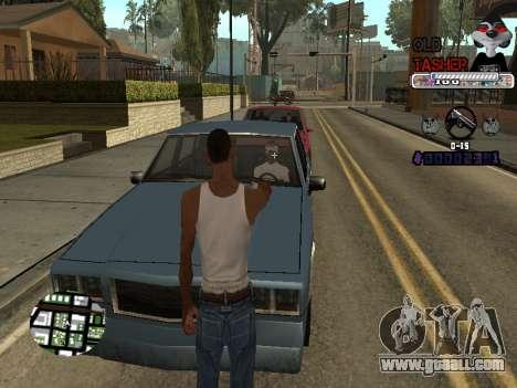 C-HUD Cesar Weezy for GTA San Andreas