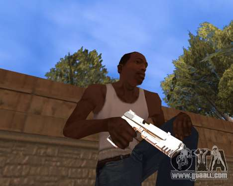 Clear weapon pack for GTA San Andreas second screenshot