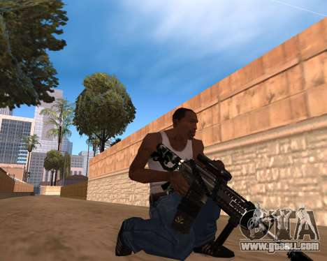 Hitman Weapon Pack v1 for GTA San Andreas second screenshot