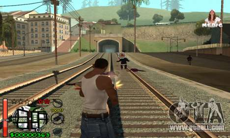 С-HUD Medic for GTA San Andreas third screenshot