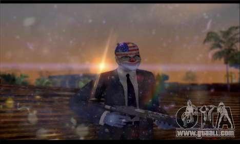 Corsar PayDay 2 ENB for GTA San Andreas fifth screenshot