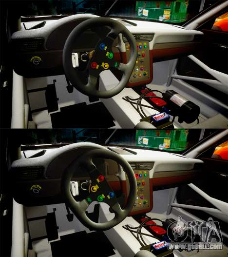 RUF RGT-8 GT3 [RIV] Nelris for GTA 4 upper view
