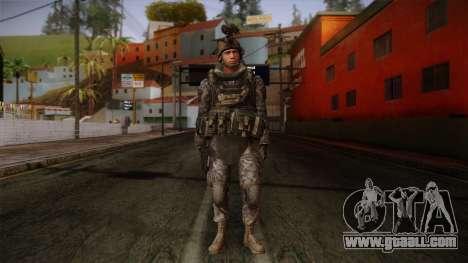 Modern Warfare 2 Skin 5 for GTA San Andreas