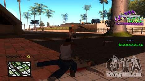 C-HUD Ghetto Tawer for GTA San Andreas second screenshot