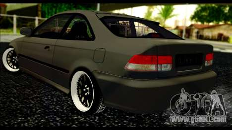 Honda Civic 1997 for GTA San Andreas left view