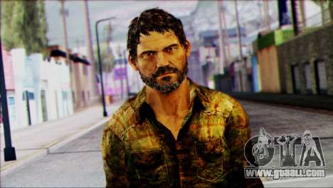 Joel from The Last Of Us for GTA San Andreas third screenshot