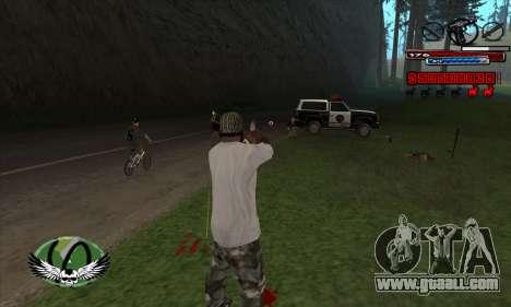 C-HUD by Kir4ik for GTA San Andreas third screenshot
