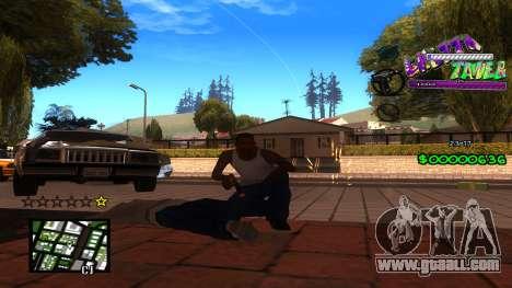 C-HUD Ghetto Tawer for GTA San Andreas third screenshot
