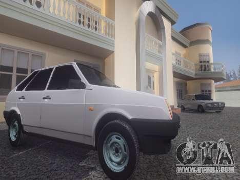 ENB_OG for weak PC for GTA San Andreas third screenshot