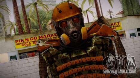 Freedom Exoskeleton for GTA San Andreas third screenshot