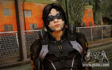 Kei Leng from Mass Effect 3 for GTA San Andreas third screenshot