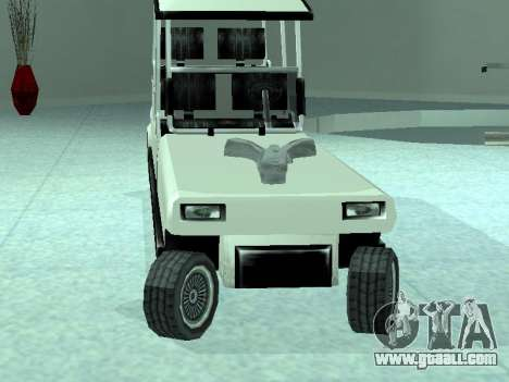 Limgolf for GTA San Andreas back left view
