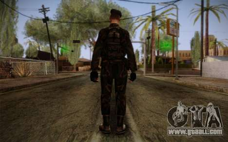 Soldier Skin 2 for GTA San Andreas second screenshot