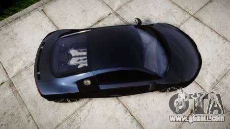 Audi R8 plus 2013 HRE rims for GTA 4 right view