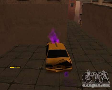 Indicator HP car for GTA San Andreas second screenshot