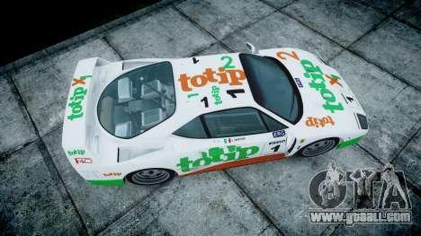 Ferrari F40 1987 [EPM] Jolly Club for GTA 4 right view
