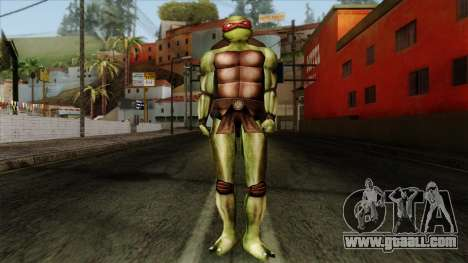 Raphael (Teenage Mutant Ninja Turtles) for GTA San Andreas