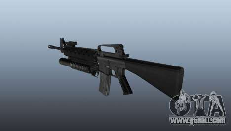 Rifle M16A2 M203 sight1 for GTA 4 second screenshot