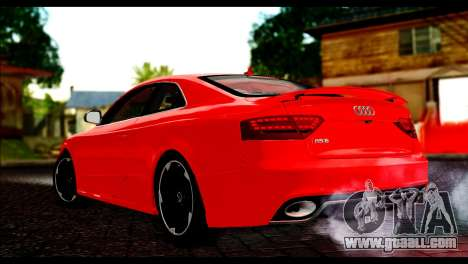 Audi RS5 Coupe for GTA San Andreas left view