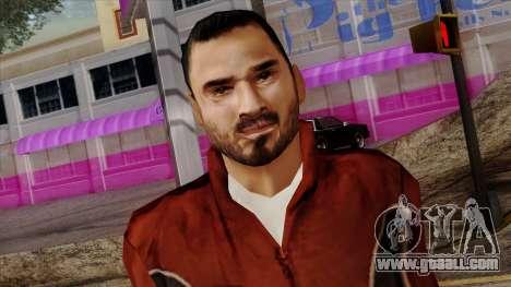 GTA 4 Skin 14 for GTA San Andreas third screenshot