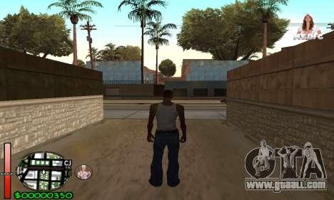 С-HUD Medic for GTA San Andreas
