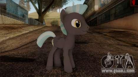 Thunderlane from My Little Pony for GTA San Andreas