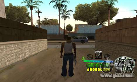 C-HUD Groove Street for GTA San Andreas