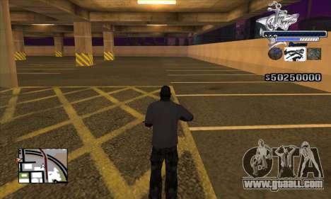 C-HUD Shark for GTA San Andreas third screenshot