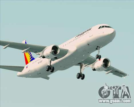 Airbus A320-200 Philippines Airlines for GTA San Andreas engine