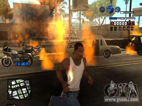 C-HUD Fantastik for GTA San Andreas sixth screenshot