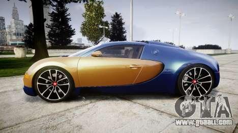 Bugatti Veyron 16.4 v2.0 for GTA 4 left view