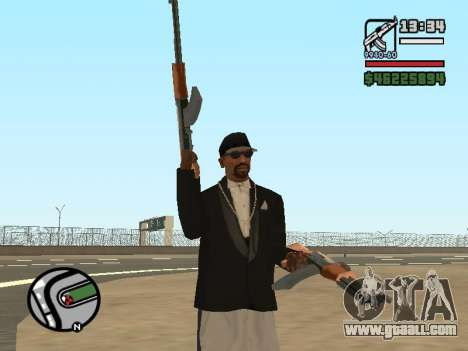 Dual ownership of all weapons for GTA San Andreas