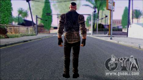 Outlast Skin 2 for GTA San Andreas second screenshot