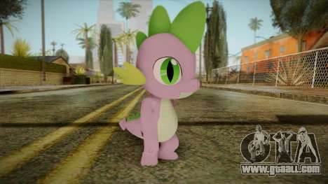 Spike from My Little Pony for GTA San Andreas