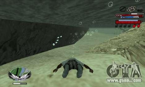 C-HUD by Kir4ik for GTA San Andreas second screenshot