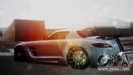 Mercedes-Benz SLS AMG for GTA San Andreas left view