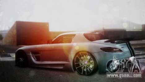 Mercedes-Benz SLS AMG for GTA San Andreas left view
